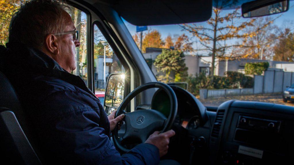 Vrijwillig chauffeur van De Witte Raaf